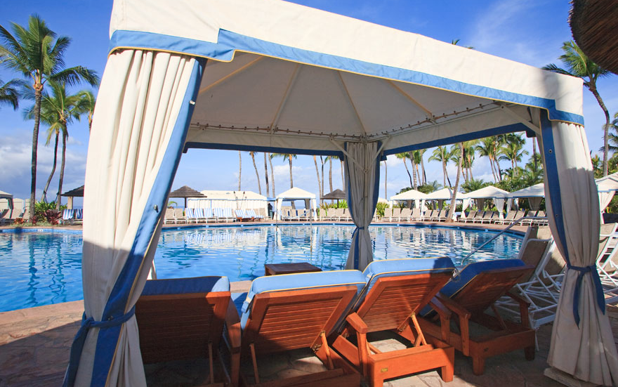 Cabanas Grand Wailea : Of america s best hotel pools for a honeymoon getaway