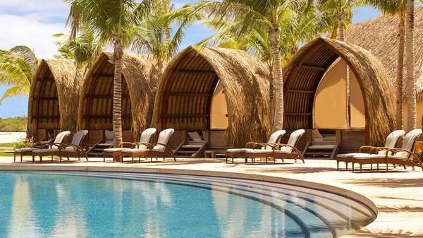 four seasons bora bora luxury cabana 003 thumb 600x337 2056 Honeymoon Registry Ideas: Private Cabana Rental