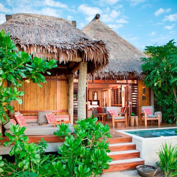 6 honeymoon destinations featuring overwater bungalows Overwater bungalows fiji