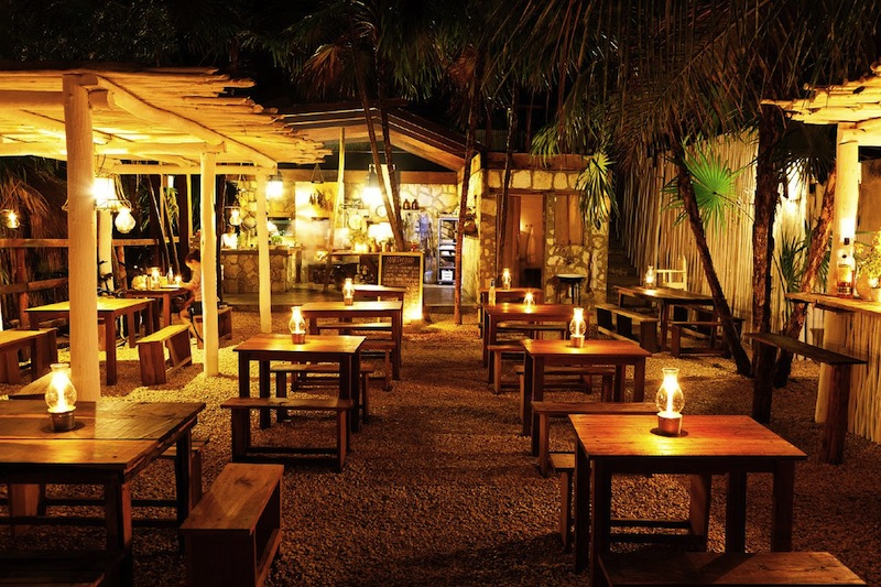 Honeymoon Ideas Outdoor Dining In Tulum Mexico