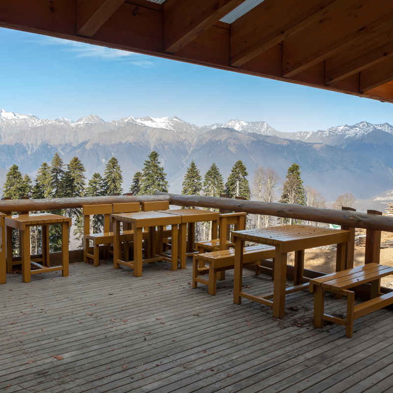 Jackson mountain view restaurant