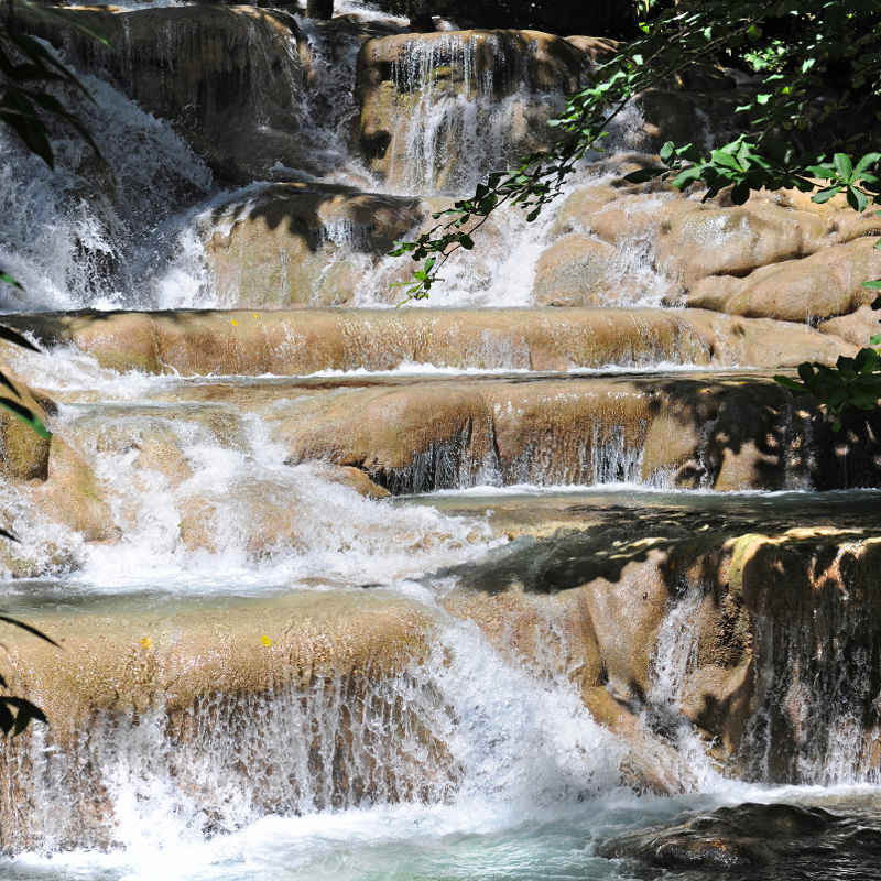 Jamaica waterfall hike
