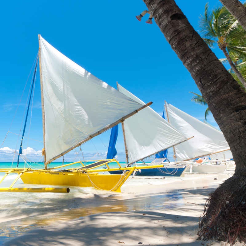 Philippines sailboats