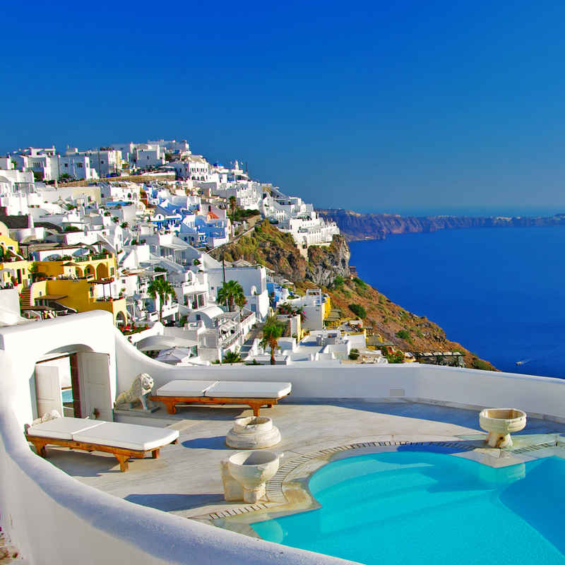 Santorini boutique luxury hotel
