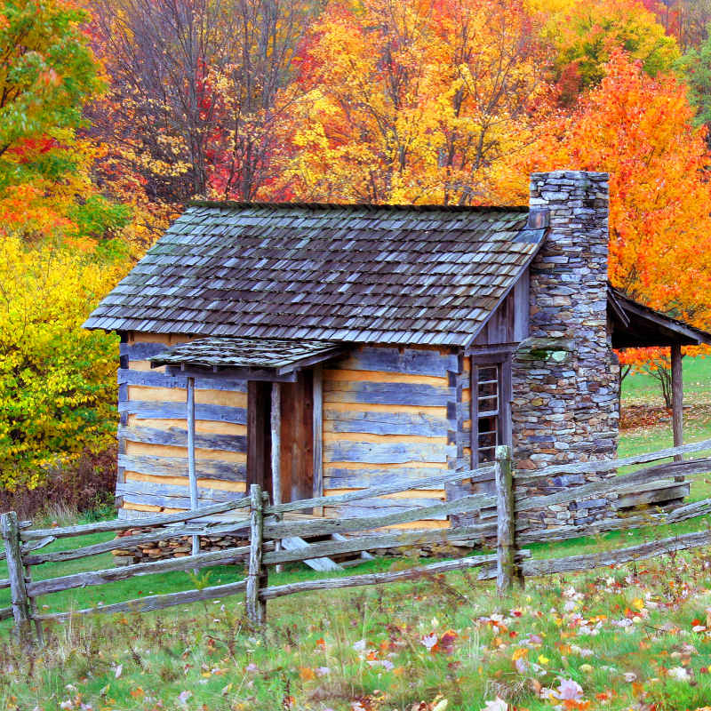 Virginia rustic cabin