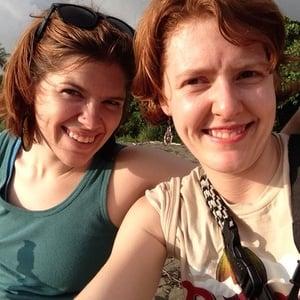 Katharine & Laura